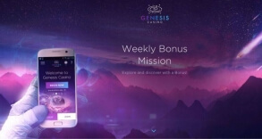 Enjoy a Weekly Mission at Genesis Casino Starting Today